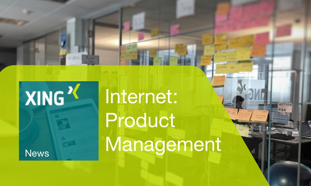 Calendar week 1 – the top 3 product management news on XING