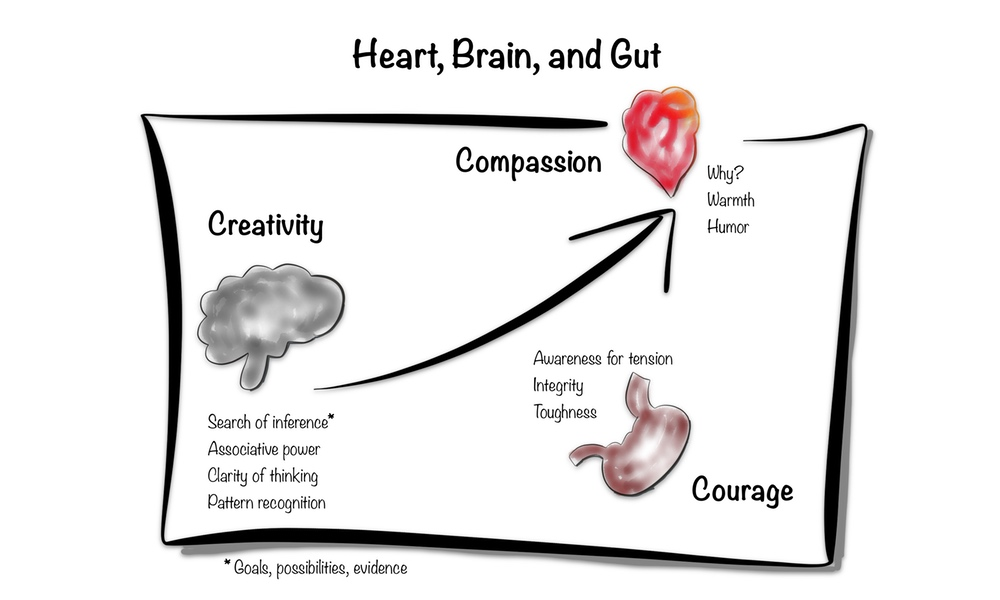 Framework no. 10: Heart, brain, and gut